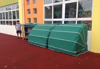 幼儿园玩具蓬 户外屋子 露天屋 布艺遮阳雨棚 儿童账蓬屋 玩具屋