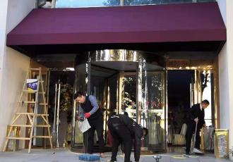南京法式蓬换布翻新 雨棚换布 遮阳雨蓬 伸缩雨蓬