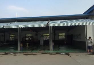 南京遮阳篷(棚)定制 江宁汽车修理厂伸缩雨篷