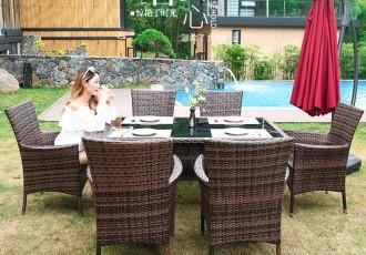 南京休闲户外伞桌椅